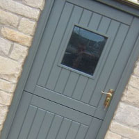 Grey Stable Doors