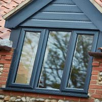 Grey Dorma window
